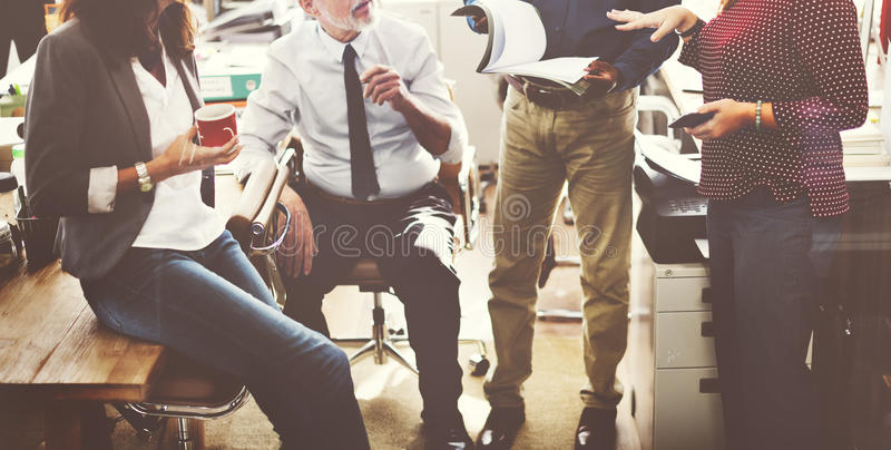 Business Team Working Office Worker Concept.  royalty free stock photo