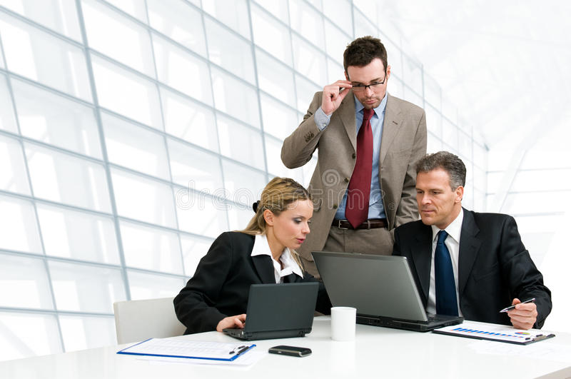 Download Business Team Working Together Stock Photo - Image: 13123570