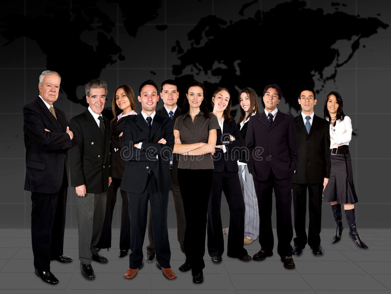 Download Business team worlwide stock photo. Image of businessman - 1462210