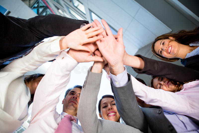 Download Business teamwork stock photo. Image of adults, smile - 25157532