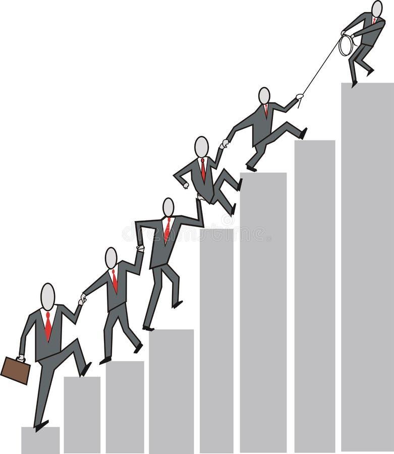 Business Teamwork Cartoon Stock Photography