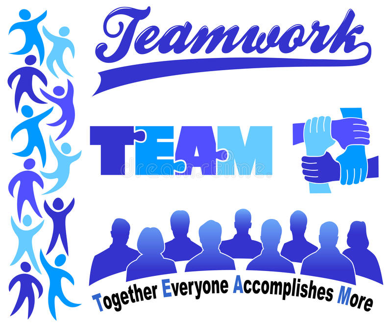 Download Business Teamwork Clipart Set/eps Stock Vector - Image: 20559493