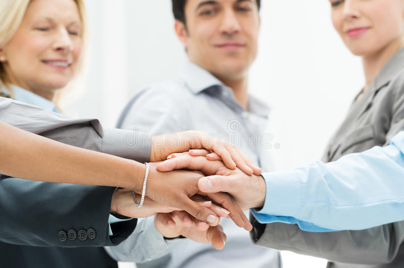 Business teamwork royalty free stock photography