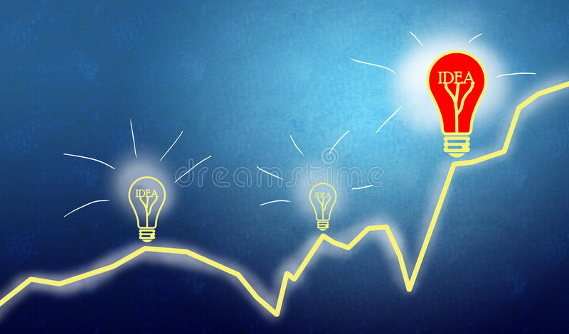 Business teamwork and innovation royalty free stock images