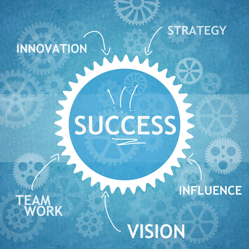 Business teamwork and innovation royalty free stock photo