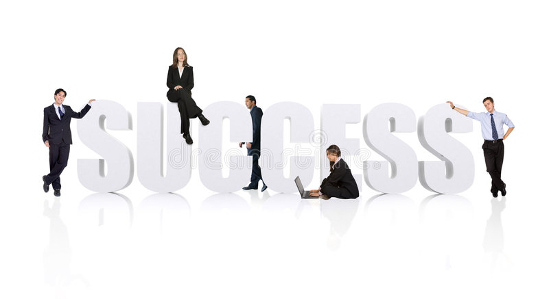 Download Business Teamwork For Success - Businesspeople Workforce Stock Image - Image of businessman, female: 1921363
