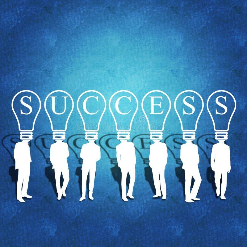 Download Business Teamwork And Success Stock Illustration - Illustration: 30830984