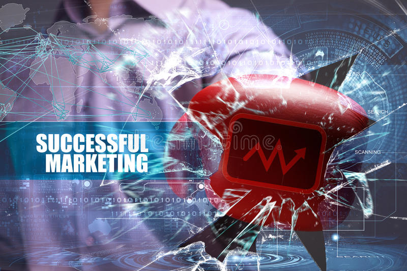Business technologie Internet vente Vente réussie photo libre de droits