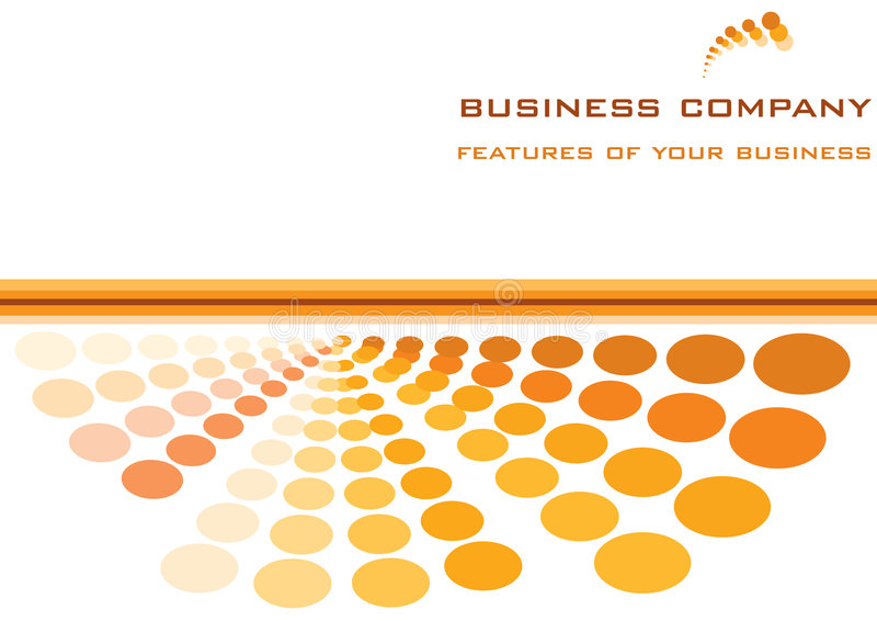 Business template vector illustration
