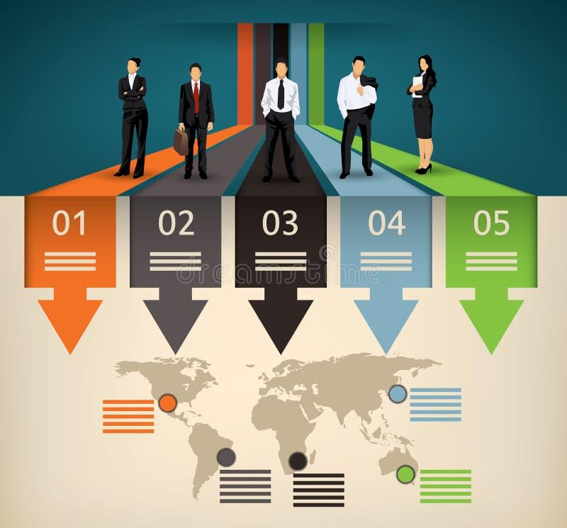 Business template stock illustration