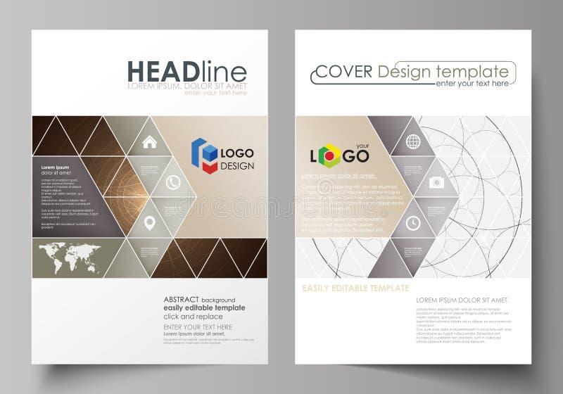 Business Templates For Brochure Flyer Booklet Cover Design