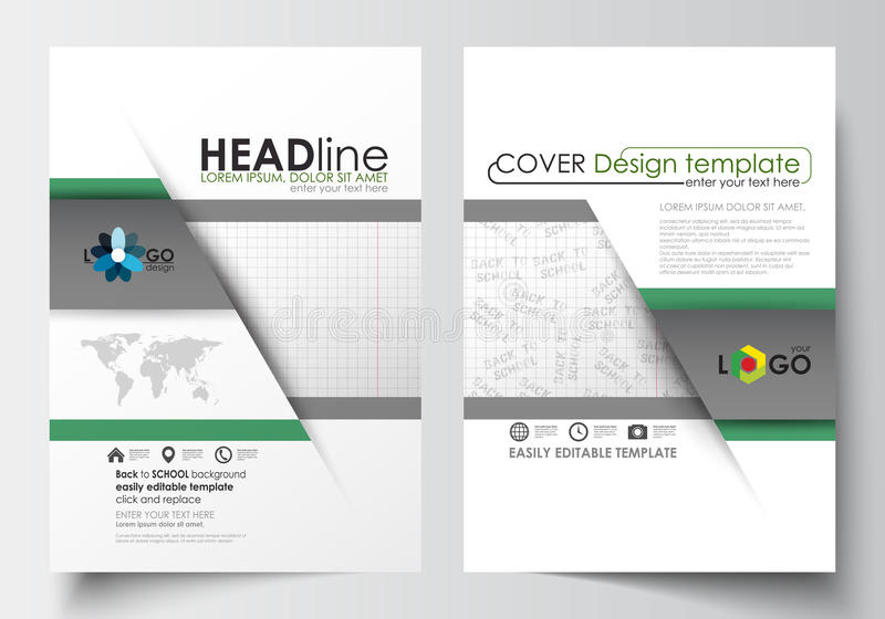 Business Templates For Brochure Magazine Flyer Booklet Or Annual