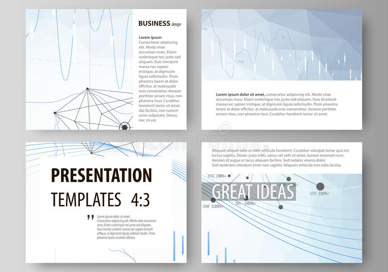 Download Business Templates For Presentation Slides Vector Layouts Blue Color Abstract Infographic Background In