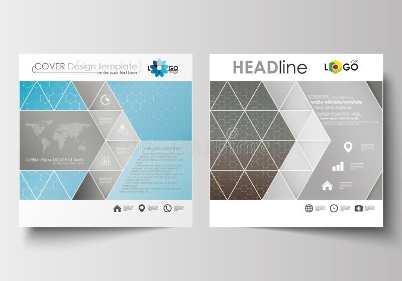 Business Templates For Square Brochure, Magazine, Flyer. Leaflet ...