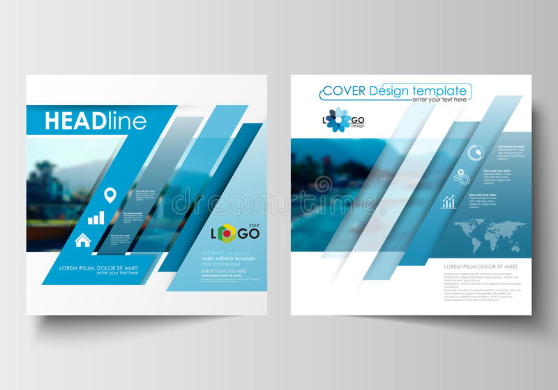 business templates for square design brochure magazine flyer