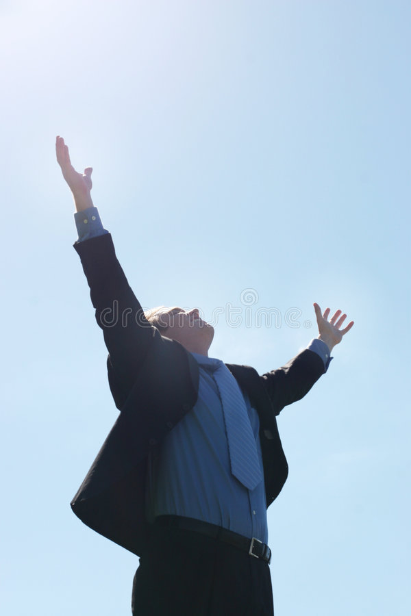 Business Thank You stock images