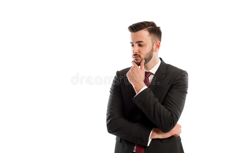 Business thinker stock photos