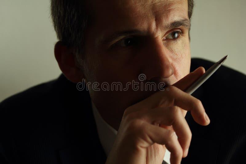 Business Thinking royalty free stock image