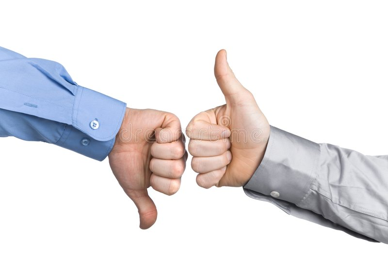 business thumbs up стоковые фото
