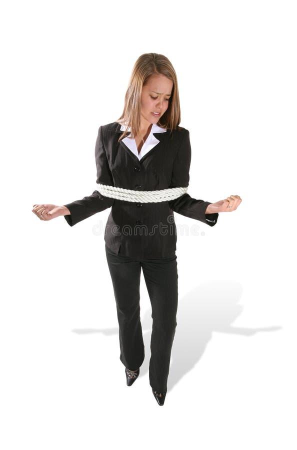 business tied woman στοκ φωτογραφίες με δικαίωμα ελεύθερης χρήσης