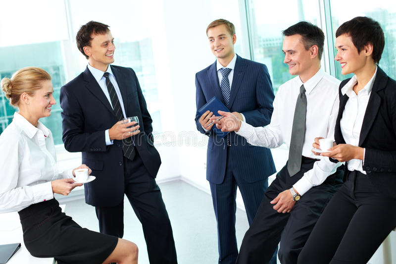 Download Business ties stock image. Image of corporate, discussing - 27380541