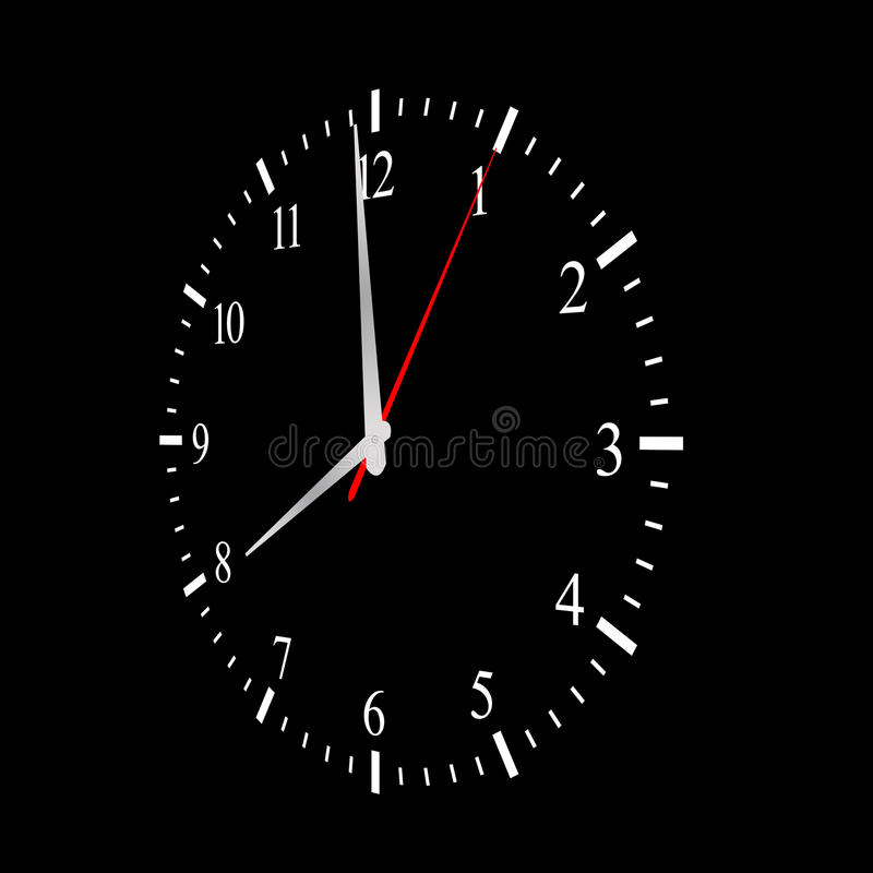 Business Time Clock Concept. Business or General Time Clock Concept stock photography