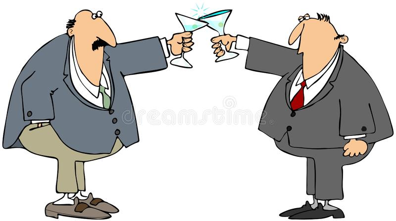 Download Business toast stock illustration. Image of celebrate - 27511453