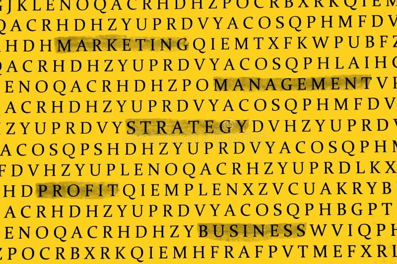 Business topics stock image