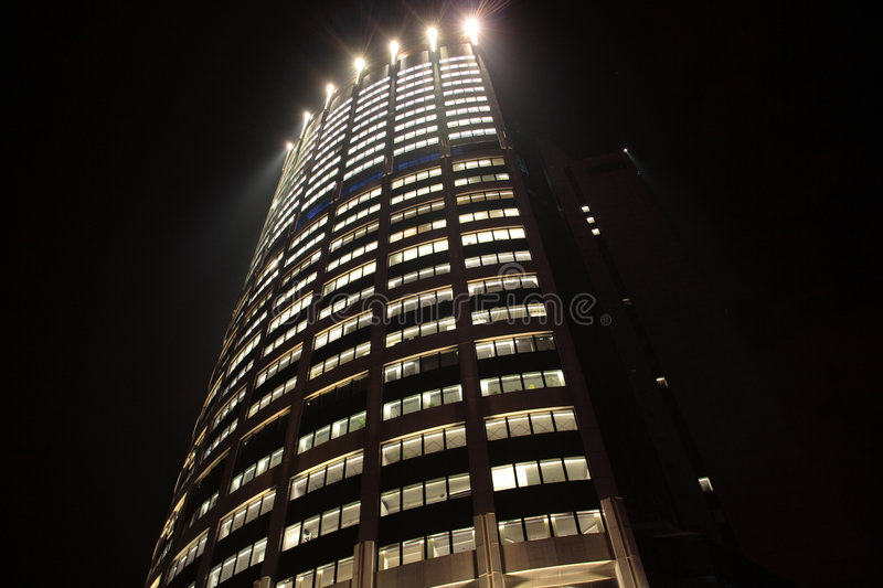 Download Business tower stock photo. Image of office, evening, glass - 8483062