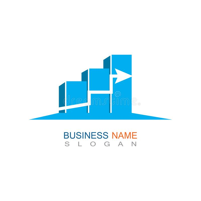 Business trading Finance Logo template vector icon design. 