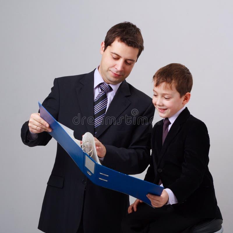 Business training royalty free stock image