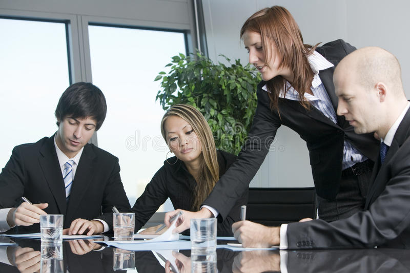 Business training stock photography