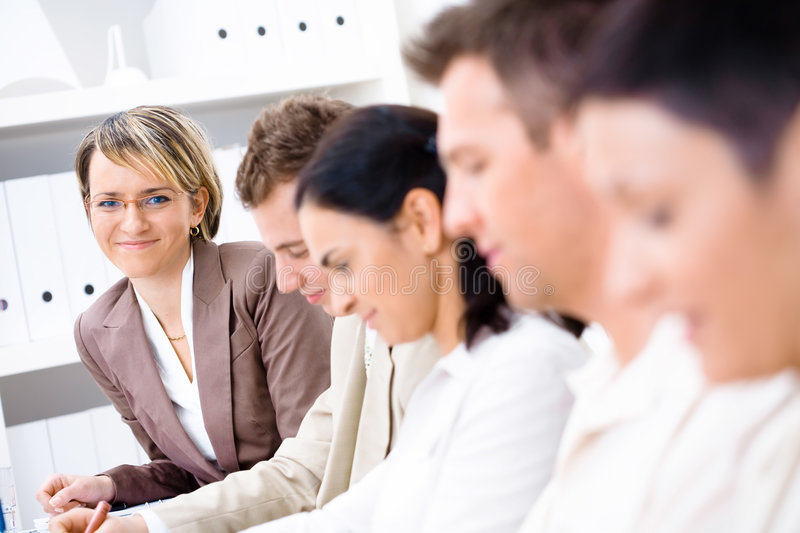Download Business training stock image. Image of dressed, meeting - 3926701