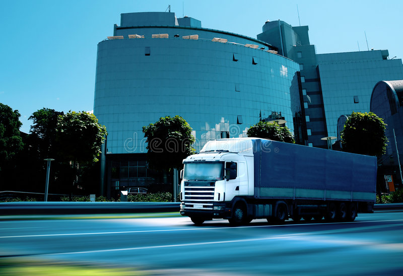 Download Business transportation stock photo. Image of lorry, motion - 7578436