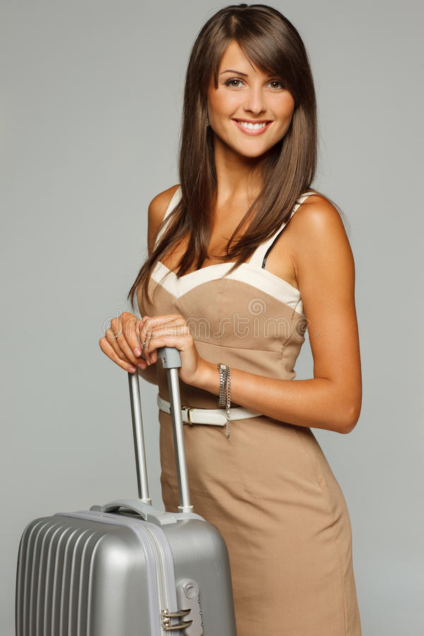 Download Business travel stock image. Image of portrait, female - 25931839