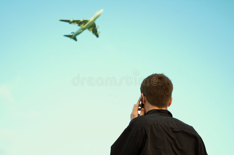Business Travel and Communication stock photo