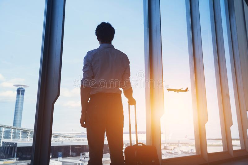 Business travel royalty free stock photo