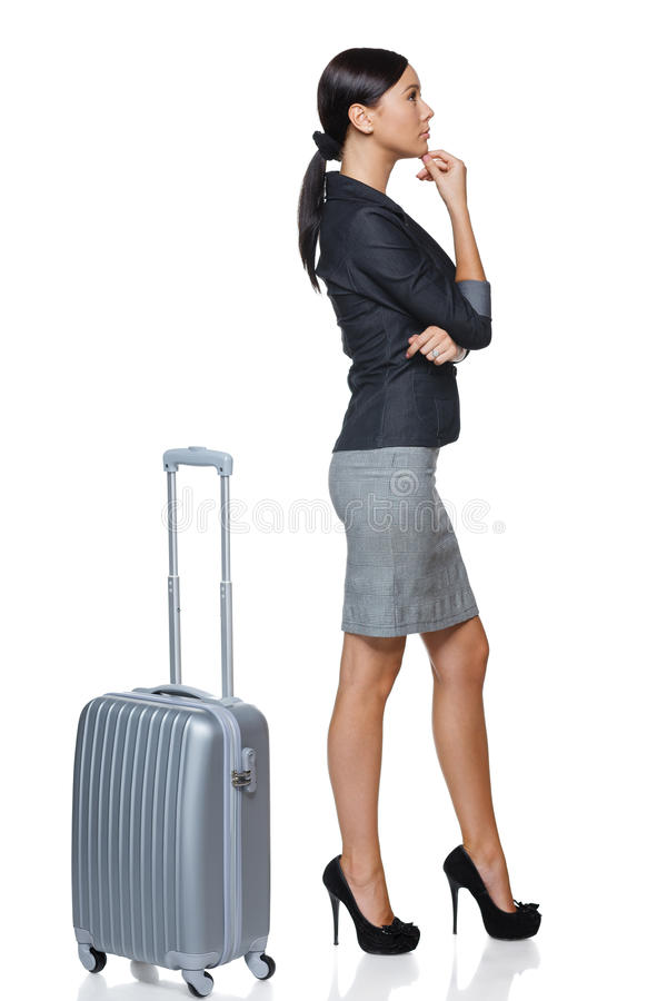 Business travel stock image