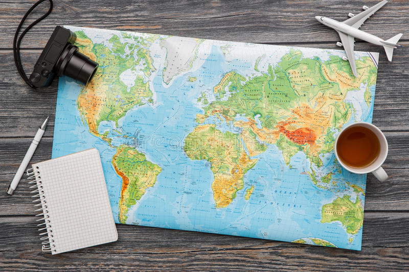 download business travel traveling map world concept stock image image of explore flat