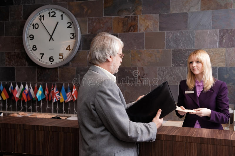 Business Traveler Stock Photography
