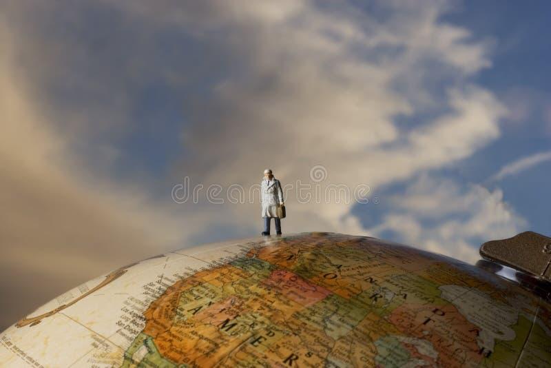 Business traveler stock image