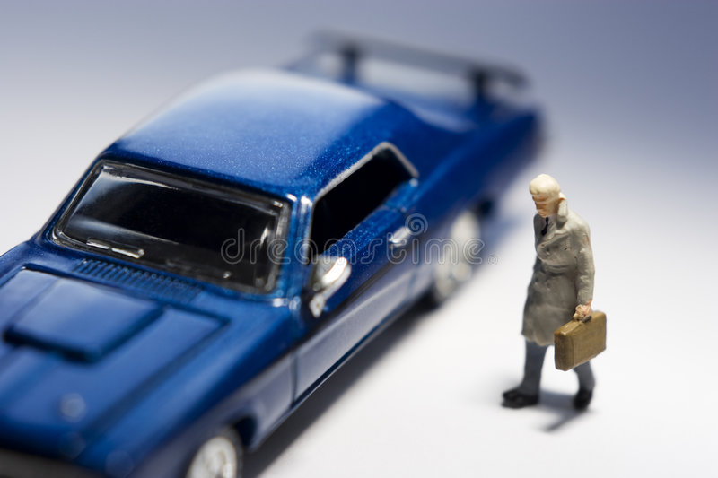 Business traveler stock images
