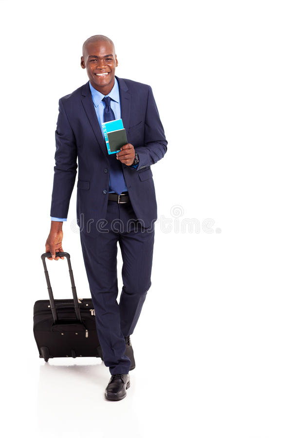 Download Business traveller walking stock photo. Image of isolated - 29449822