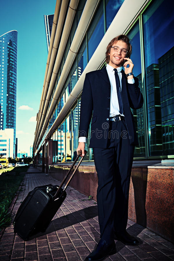 Business trip royalty free stock photos
