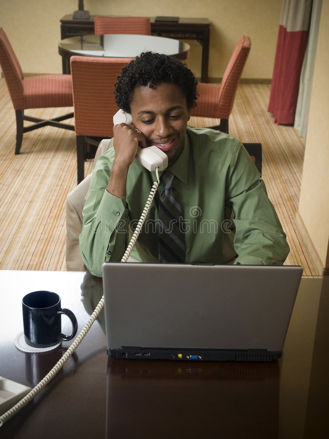 Download Business Trip - Happy Laptop Man Stock Image - Image: 6191339