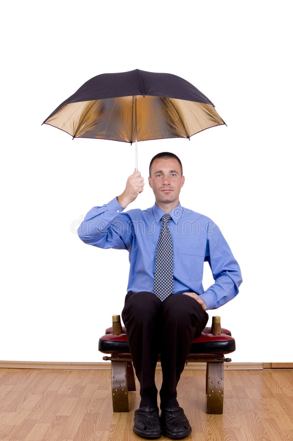 Download Business umbrella stock image. Image of young, metaphor - 1403399