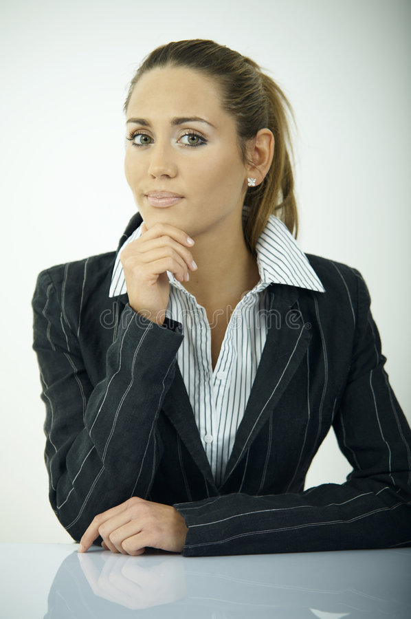 Download Daily Business V stock photo. Image of caucasian, beautiful - 2195940