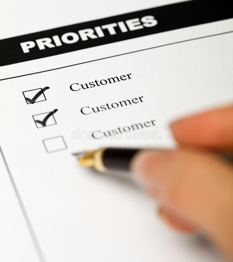 Download Business Values - Customer Oriented Stock Photo - Image: 13617418