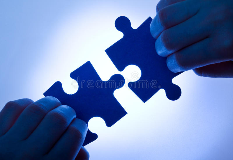 Business values - teamwork concept royalty free stock images