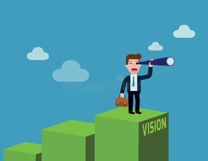 Business Vector flat cartoon design. banner background concept stock illustration